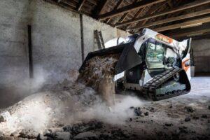 мини товарач bobcat T76-на терен