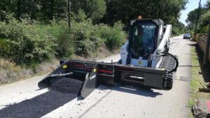 асфалтополагащо устройство бобкат