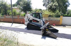асфалтополагащо устройство bobcat