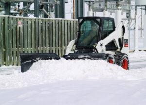 гребло сняг