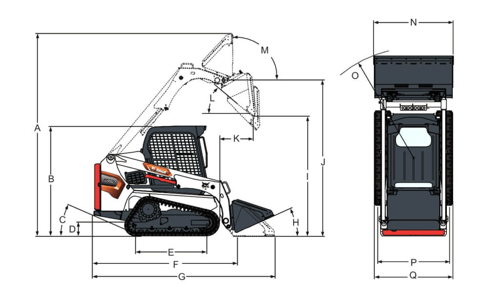 T450 размери