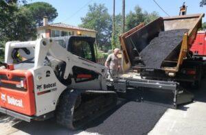 bobcat асфалтополагащо устройство