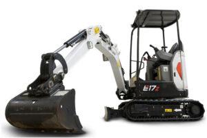мини багер- E17z