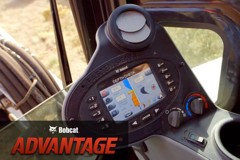 Bobcat багери- система за проверка на дълбочината